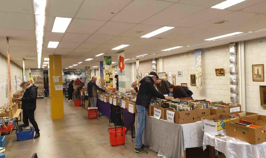 Pop-up boekenmarkt op herhaling