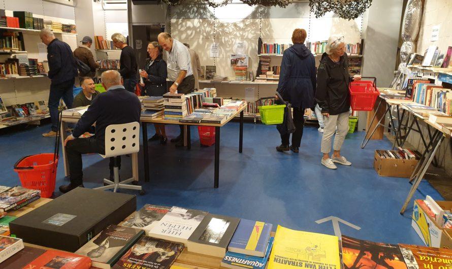 Huib van Verseveld gaat door met boekenmarkten